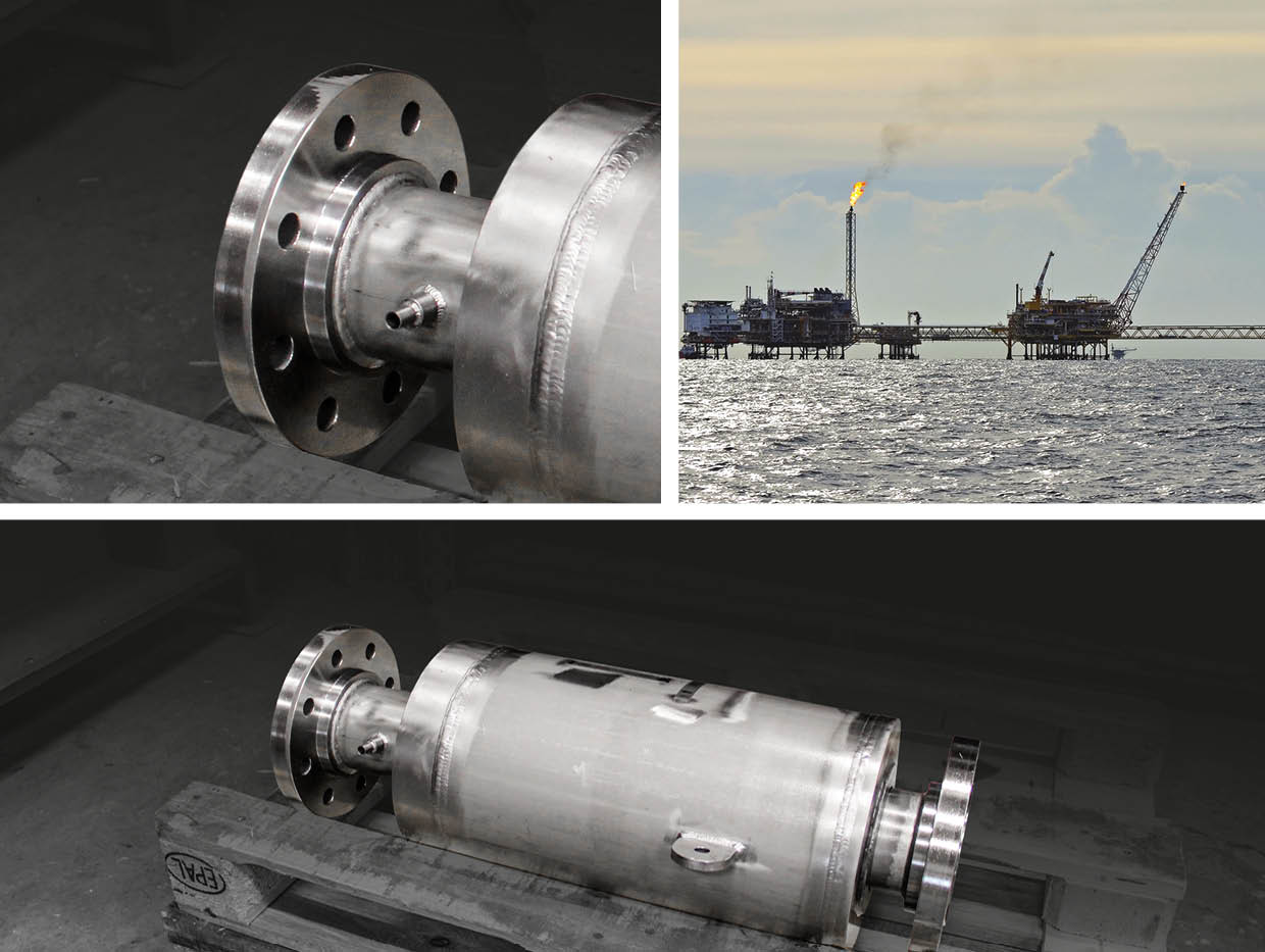 This small, but very special Expansion Joint is engineered and delivered by Norborn for an oil Platform in Norway.